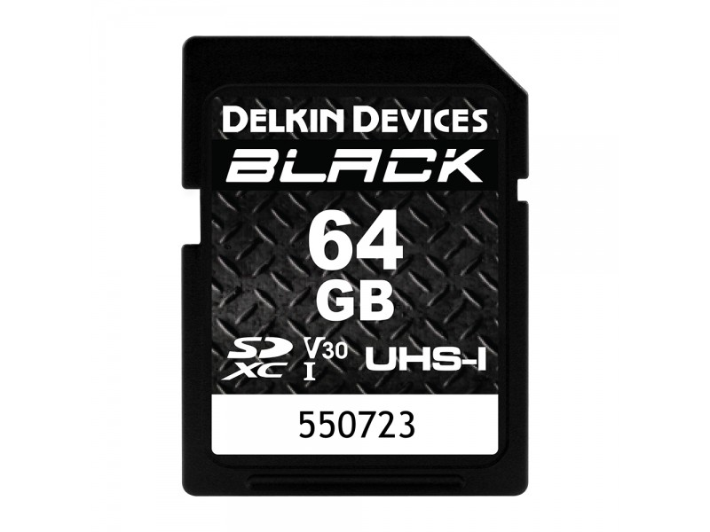 Delkin SD Black Rugged UHS-I V30 64gb